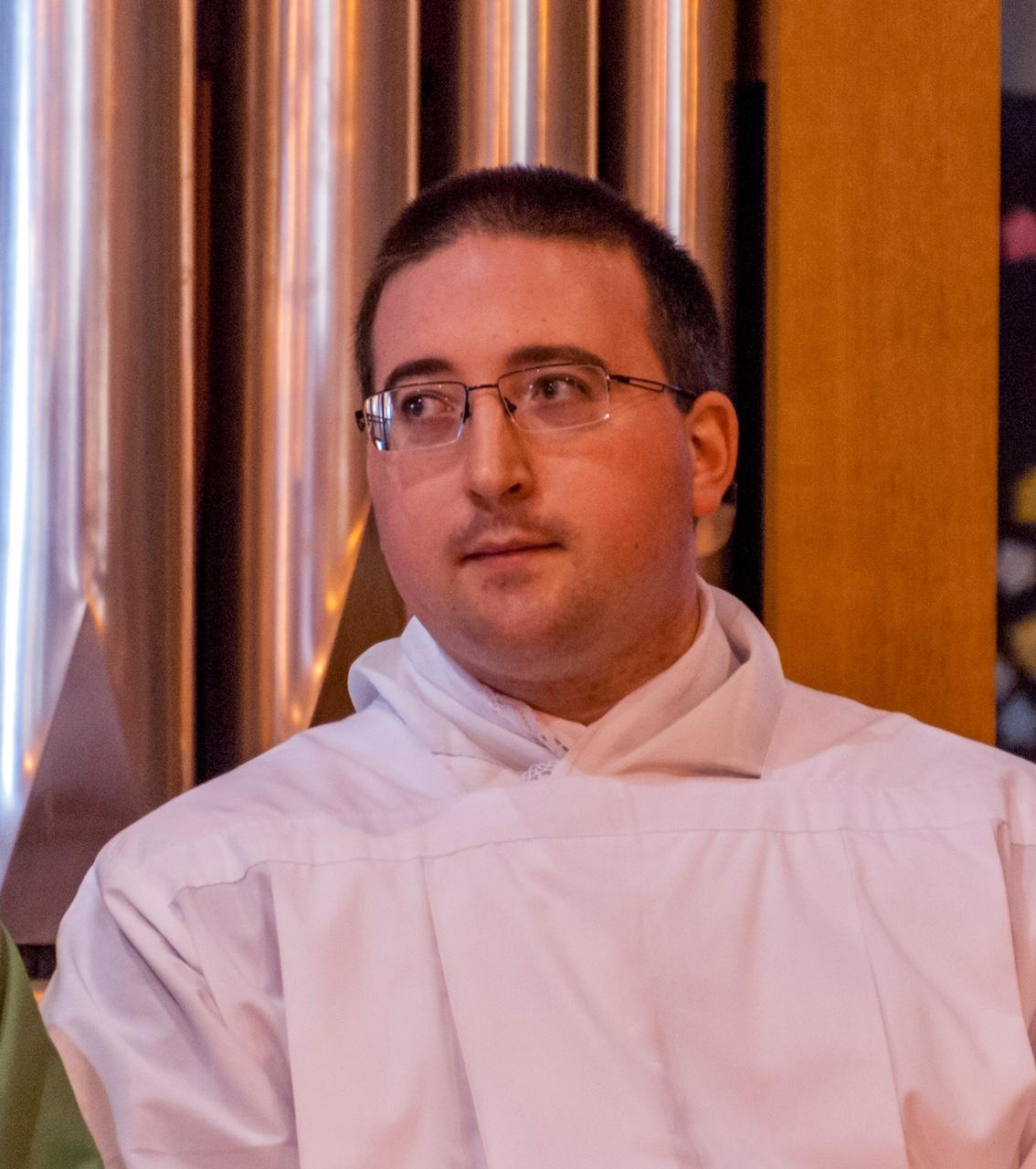 L'abbé Delmas nouveau cure de Saint Jean Bosco