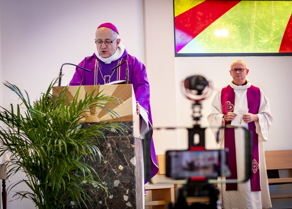 La sécurité lors de la messe du 22 Mars et Acte de communion spirituelle par Mgr Turini