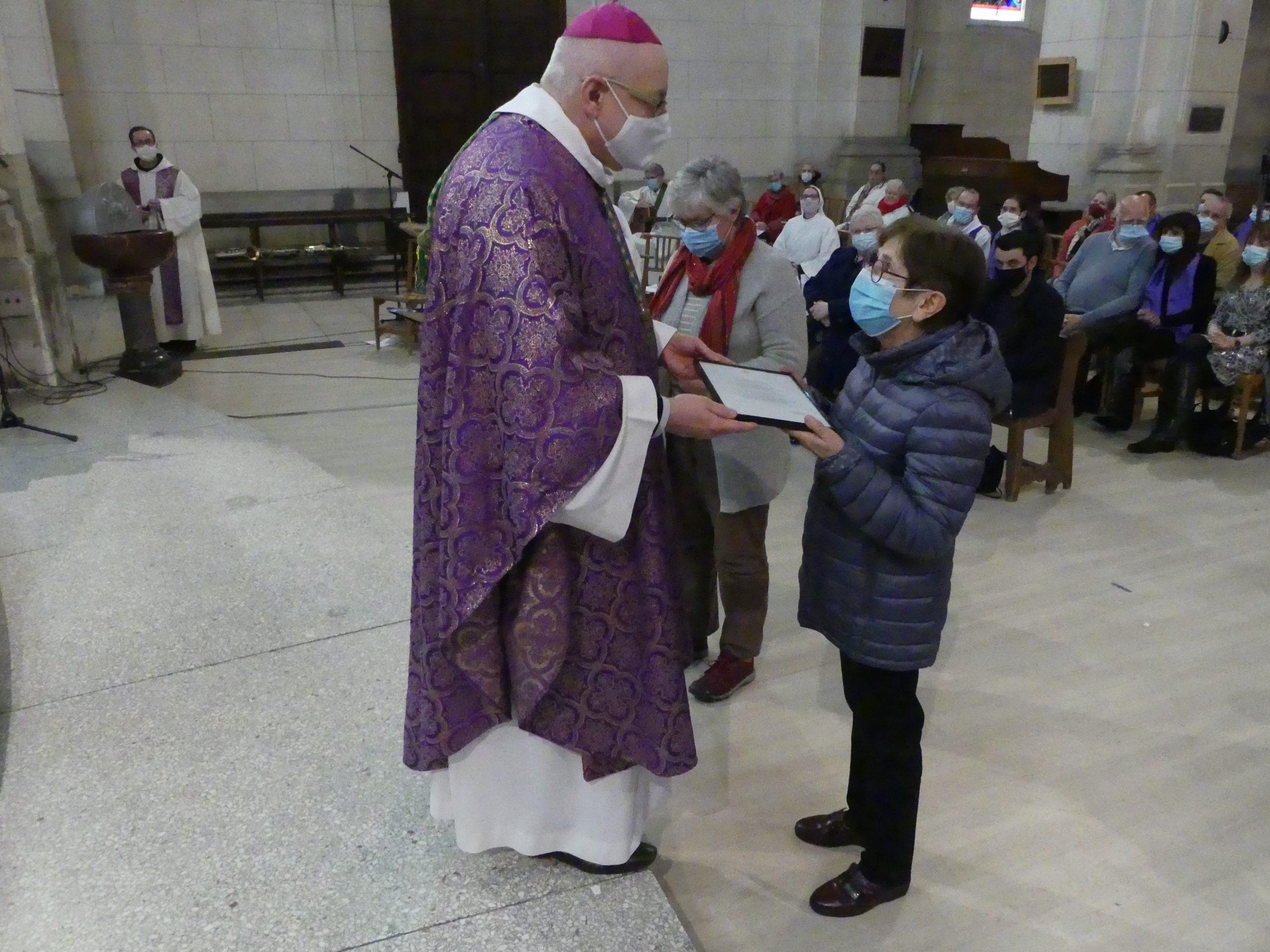 Trois associations diocésaines bénies par le Pape François