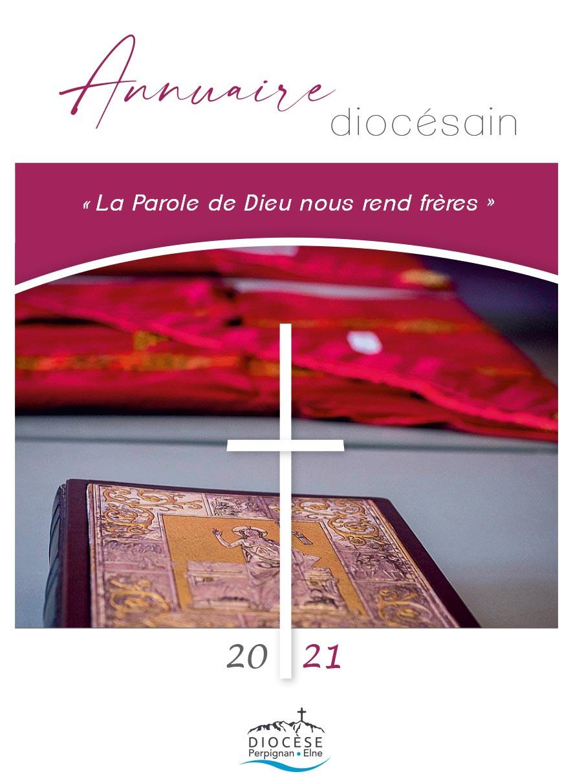 Le nouvel annuaire diocésain 2021 est disponible à la vente