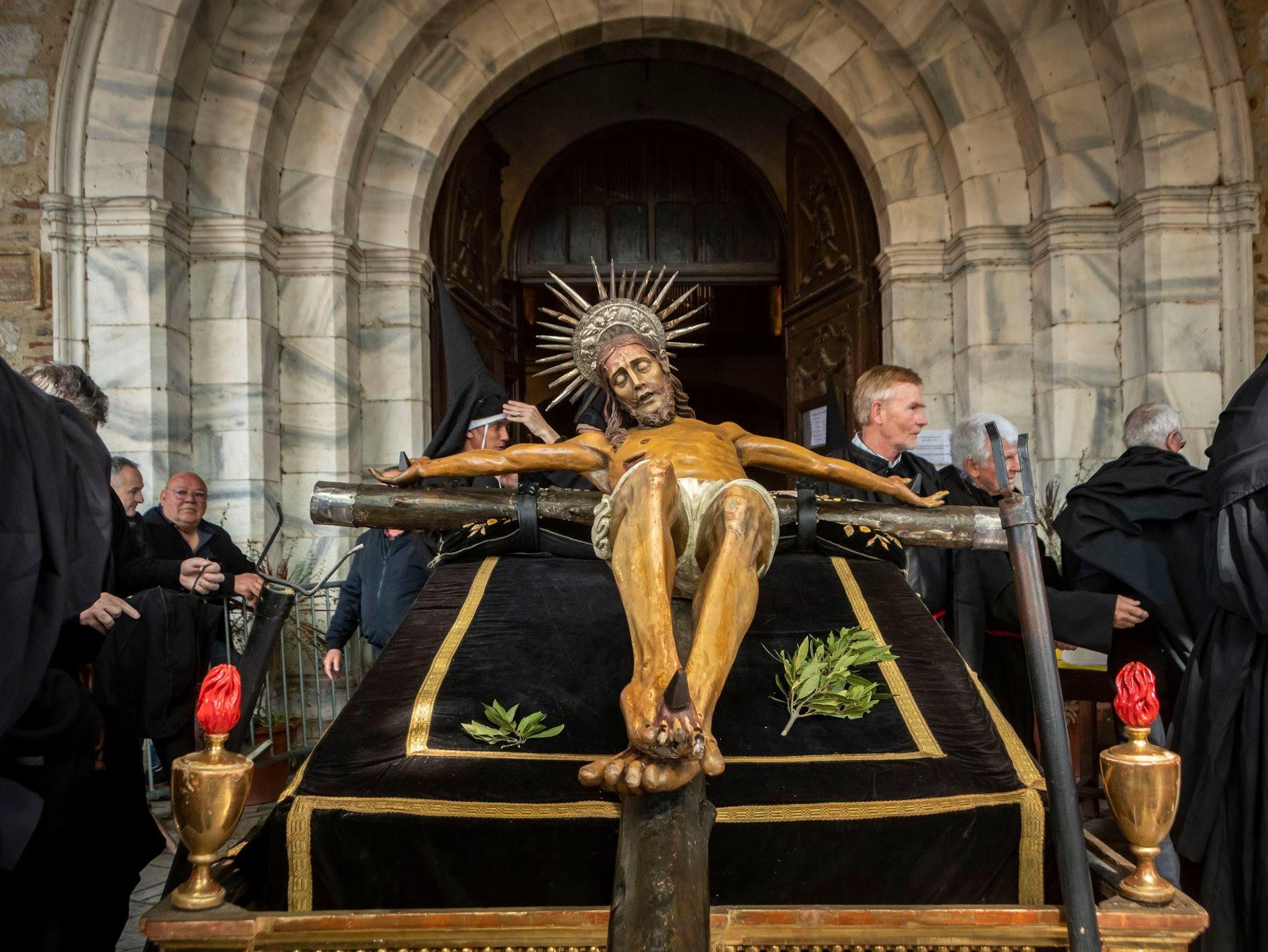 Méditation et prière au Dévot Christ : l'arrestation de Jésus