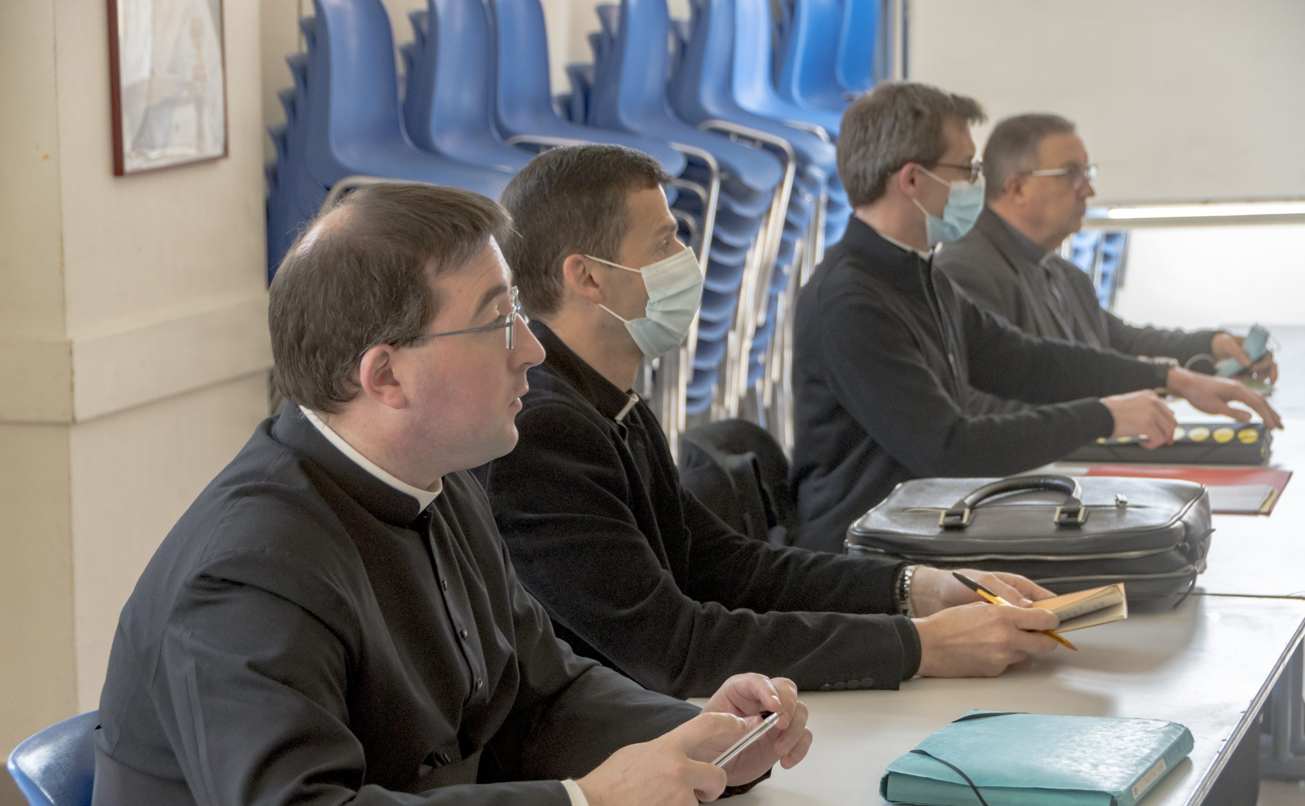 Le conseil presbytéral attentif à la santé des prêtres
