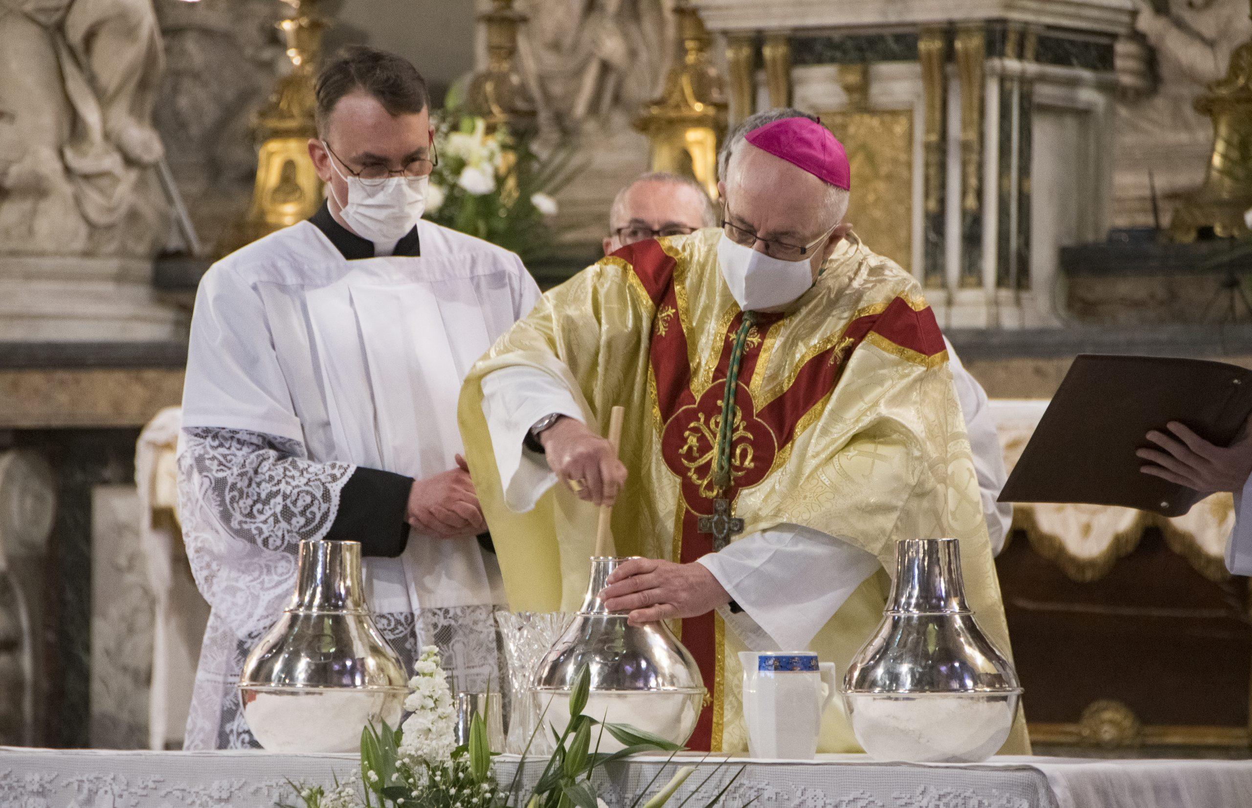 L'union diocésaine lors de la Messe Chrismale