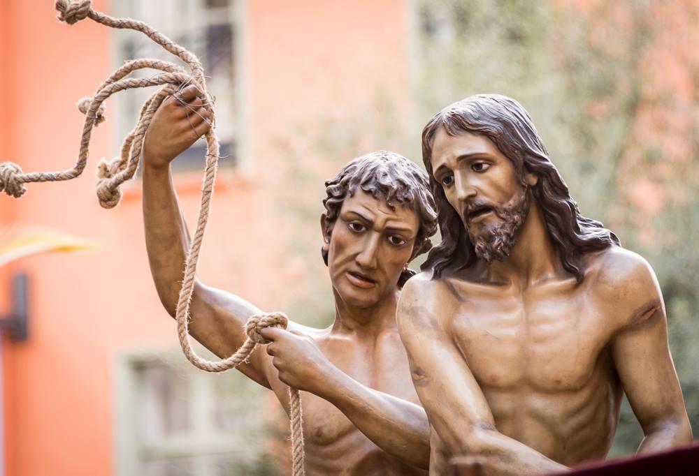 Méditation et prière au Dévot Christ : le chemin de croix