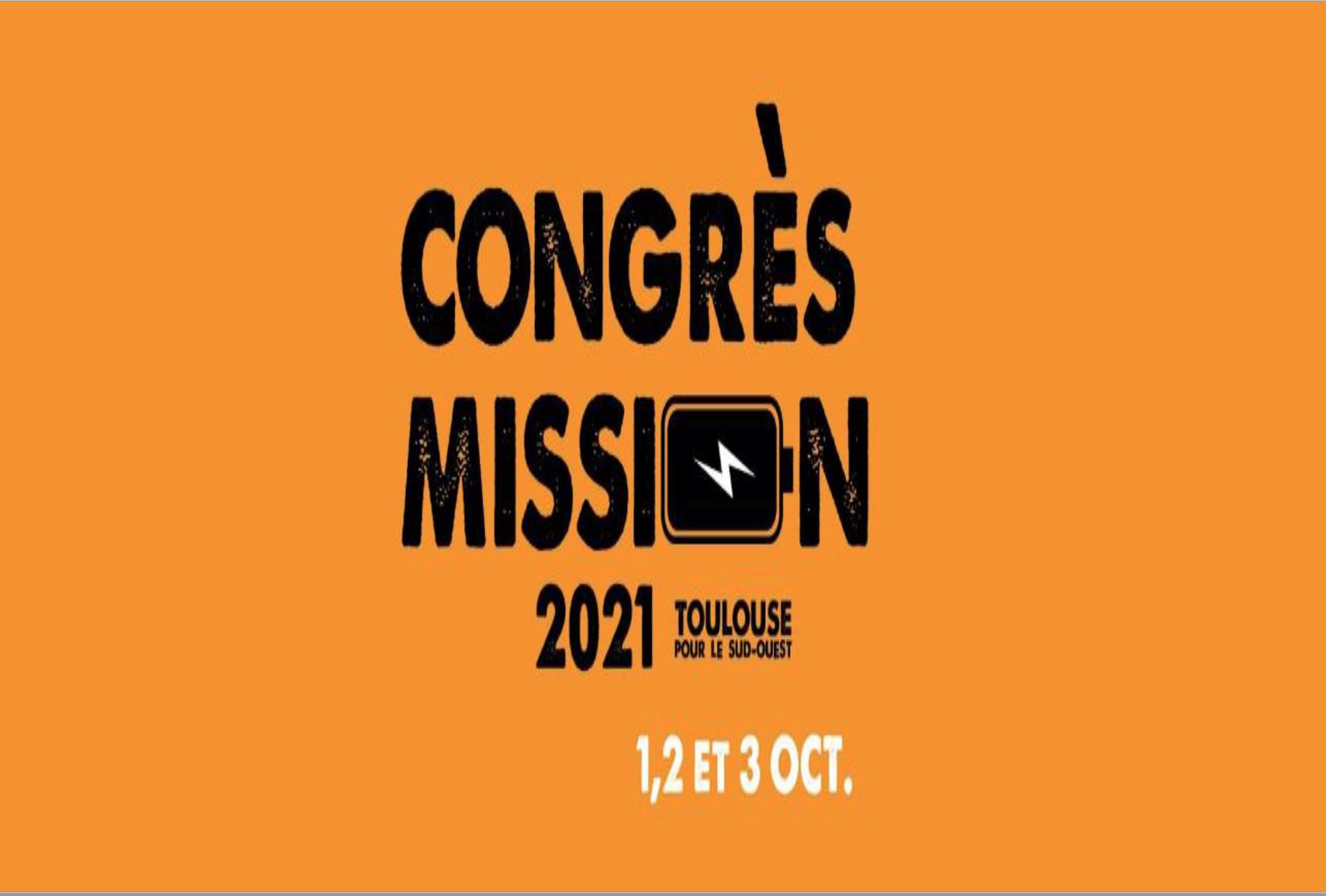 En route pour la Mission au congrès de Toulouse