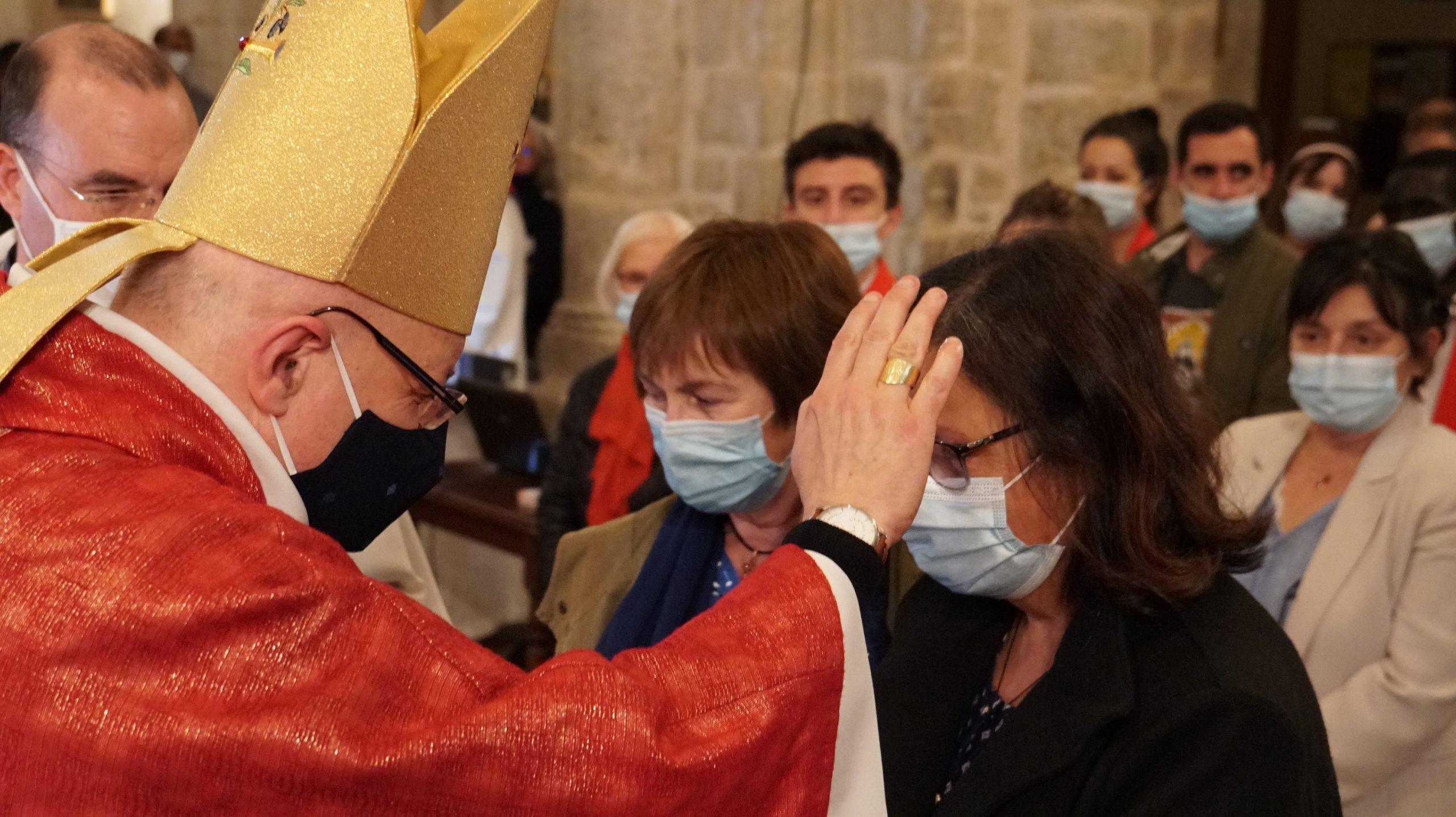 Le Feu de L'esprit Saint reçu par 46 adultes à Elne