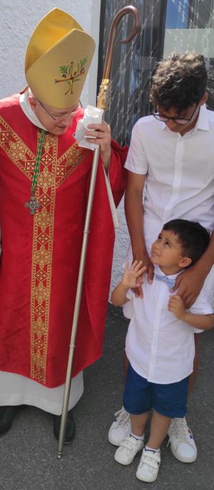 L'homélie de Mgr Turini pour les obsèques du petit Tao
