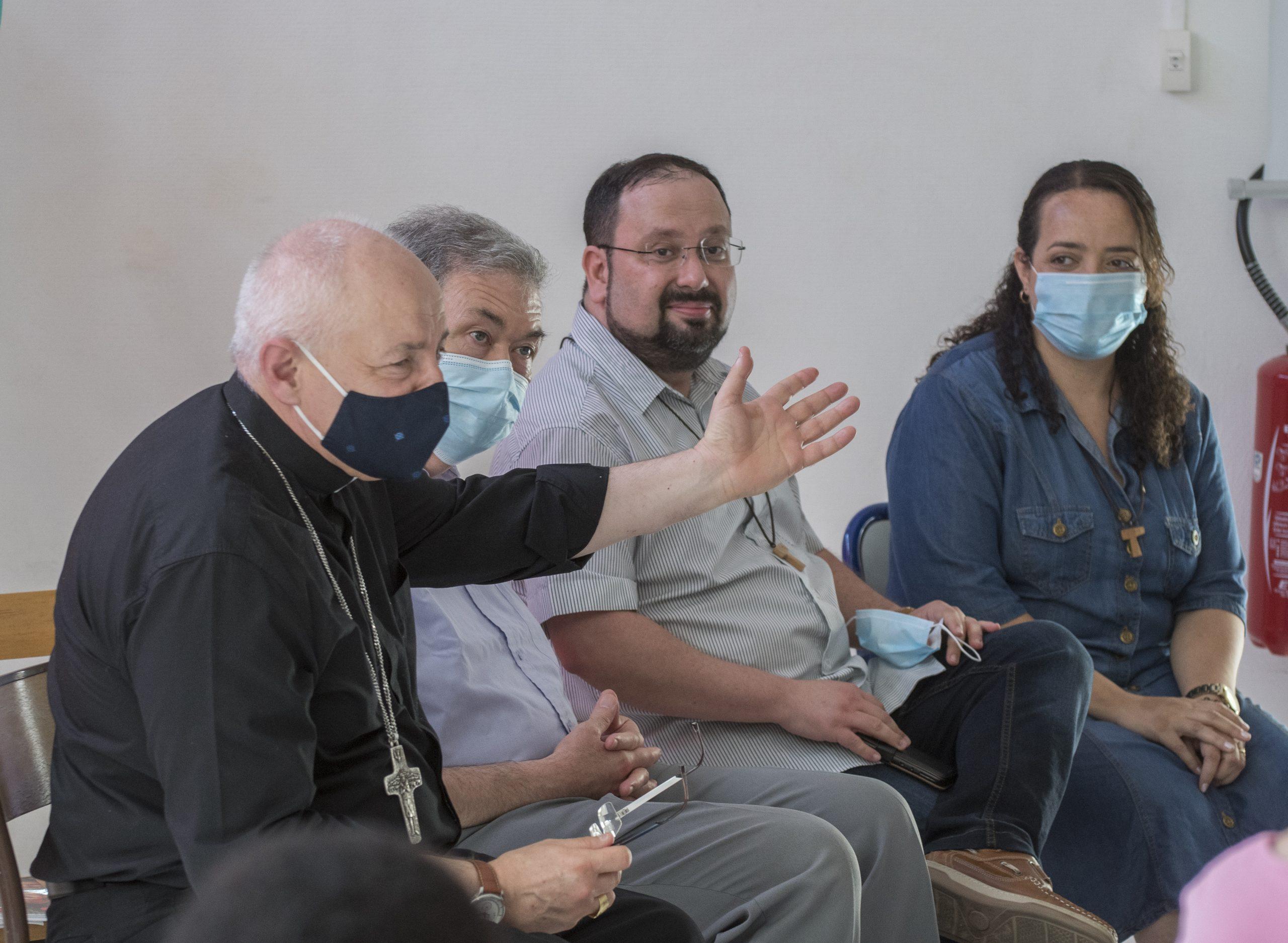 Sanctuaire St Joseph : la communauté Shalom à la rencontre des composantes diocésaines